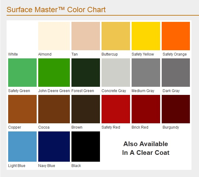 Master Paints Color Chart Numberedtype